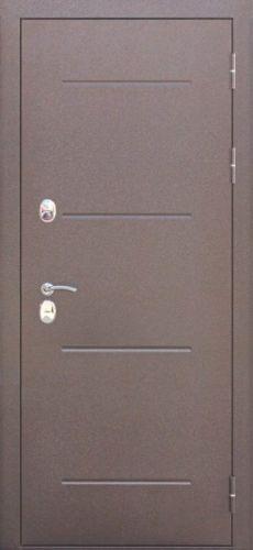 Акция- Входная морозостойкая дверь c ТЕРМОРАЗРЫВОМ 11 см Медный антик