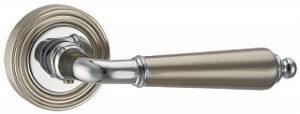 Ручка раздельная LIBRETTO матовый никель,хром