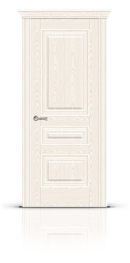 Межкомнатная дверь Элеганс-2 Беленый ясень