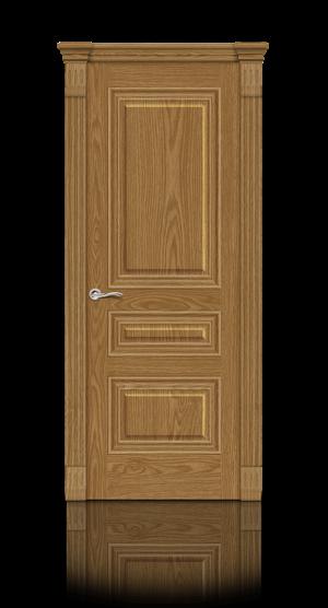 Межкомнатная дверь Элеганс-2 Дуб медовый