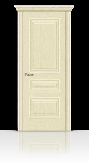 Межкомнатная дверь Элеганс-2 Ясень ваниль