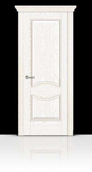 Межкомнатная дверь Онтарио Белый ясень