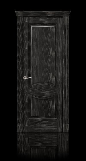 Межкомнатная дверь Онтарио Черный абрикоc