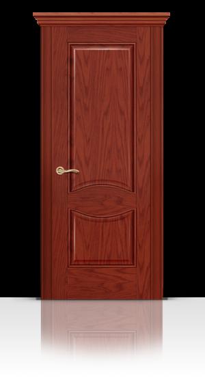 Межкомнатная дверь Онтарио Красное дерево