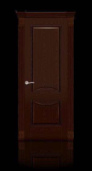 Межкомнатная дверь Онтарио Ясень шоколад