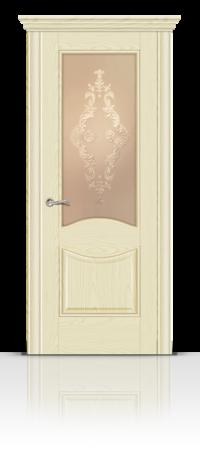 Межкомнатная дверь Онтарио стекло