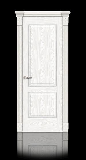 Межкомнатная дверь Бристоль Белый ясень