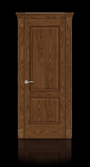 Межкомнатная дверь Бристоль Дуб моренный