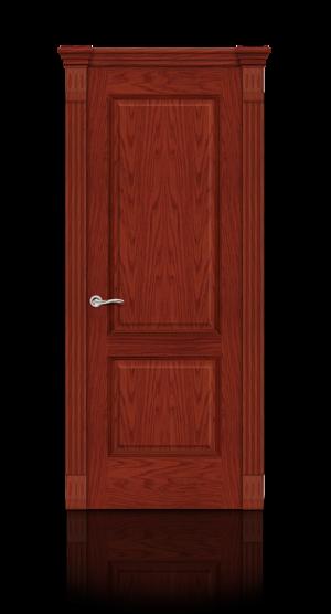 Межкомнатная дверь Бристоль Красное дерево