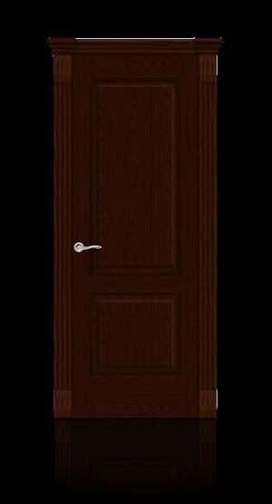 Межкомнатная дверь Бристоль Ясень шоколад