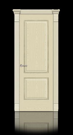 Межкомнатная дверь Бристоль Ясень ваниль