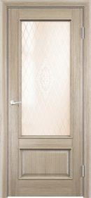 Межкомнатная дверь Барселона 2 ДО из натурального шпона