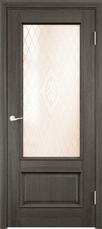 Межкомнатная дверь Барселона 2 ДО из натурального шпона2
