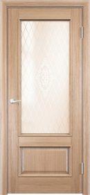 Межкомнатная дверь Барселона 2 ДО из натурального шпона3