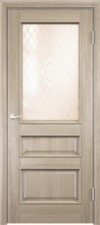 Межкомнатная дверь Барселона 4 ДО из натурального шпона