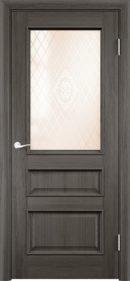 Межкомнатная дверь Барселона 4 ДО из натурального шпона2