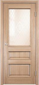Межкомнатная дверь Барселона 4 ДО из натурального шпона3