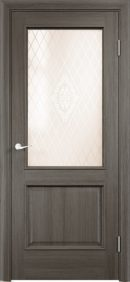 Межкомнатная дверь Барселона ДО из натурального шпона2