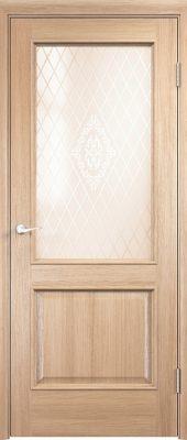 Межкомнатная дверь Барселона ДО из натурального шпона3