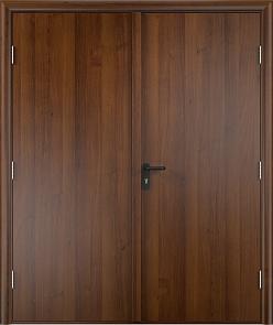 Противопожарная дверь ДПГ + ДПГ (ламинатин)2