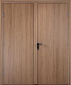 Противопожарная дверь ДПГ + ДПГ (ламинатин)4