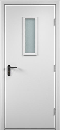 Противопожарная дверь ДПО огнеупорное (ламинированная)