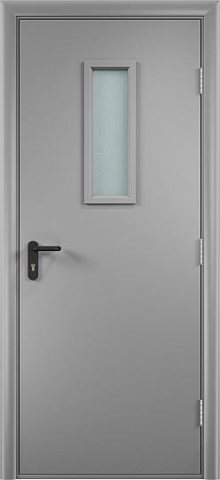 Противопожарная дверь ДПО огнеупорное (ламинированная)10