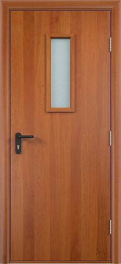 Противопожарная дверь ДПО огнеупорное (ламинированная)3