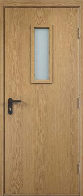Противопожарная дверь ДПО огнеупорное (ламинированная)5