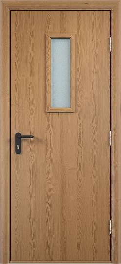 Противопожарная дверь ДПО огнеупорное (ламинированная)6