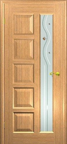 Межкомнатная дверь Иван да Марья со стеклом