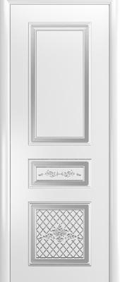 Белые двери (патина)