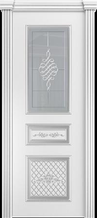 Межкомнатная дверь Венеция со стеклом