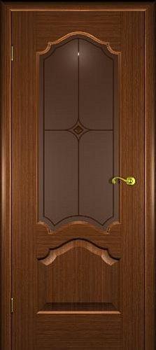 Межкомнатная дверь Верона со стеклом