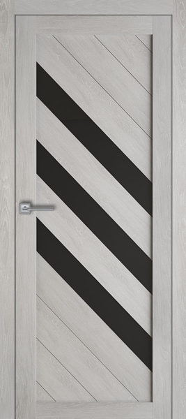 Т-4-Шале-серый-стекло-черное