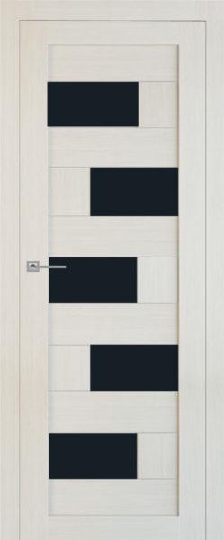Т32 беленая лиственница стекло черное