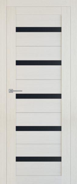 Т5 беленая лиственница стекло черное