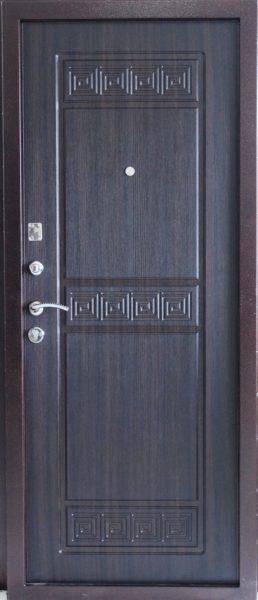 Входная дверь Троя венге внутренняя