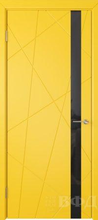 Флитта 26ДО08 черн.лакобель эмаль желтая