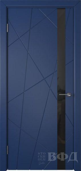 Флитта 26ДО09 черн.лакобель эмаль синяя