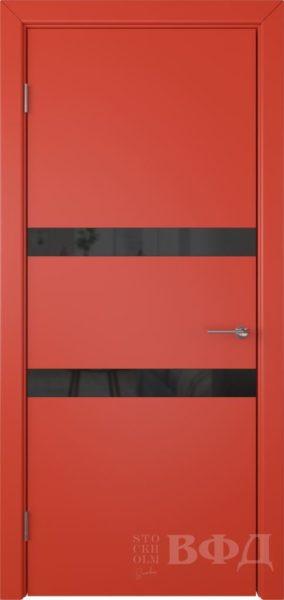 Ньюта 59ДО07 черн.лакобель эмаль красная