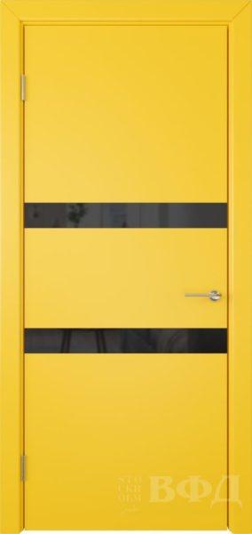 Ньюта 59ДО08 черн.лакобель эмаль желтая