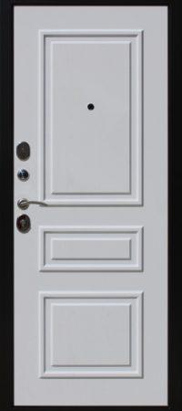Входная дверь броня белая