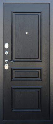 Входная дверь броня черная