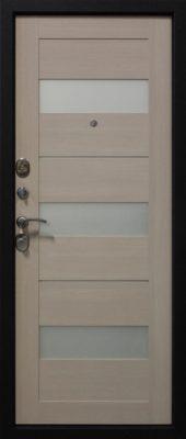 Входная дверь графит экодуб