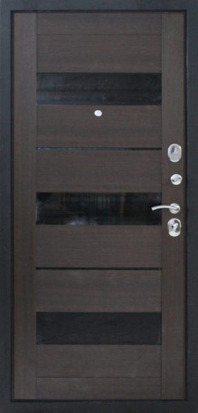 Входная дверь графит венге