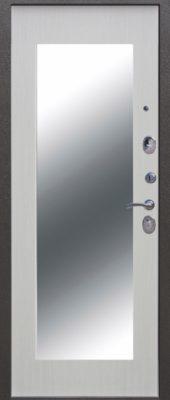 Троя Серебро МАКСИ зеркало Белый ясень