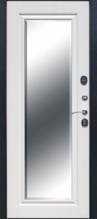 7,5 см GARDA Серебро Зеркало Фацет Белый ясень