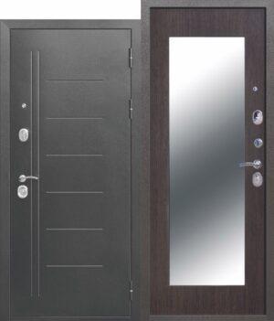 Троя Серебро МАКСИ зеркало Венге