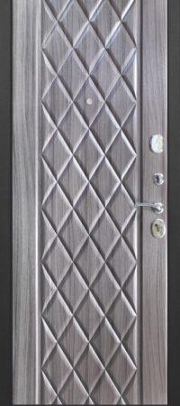 Входная дверь 10 см Троя Муар Палисандр темный